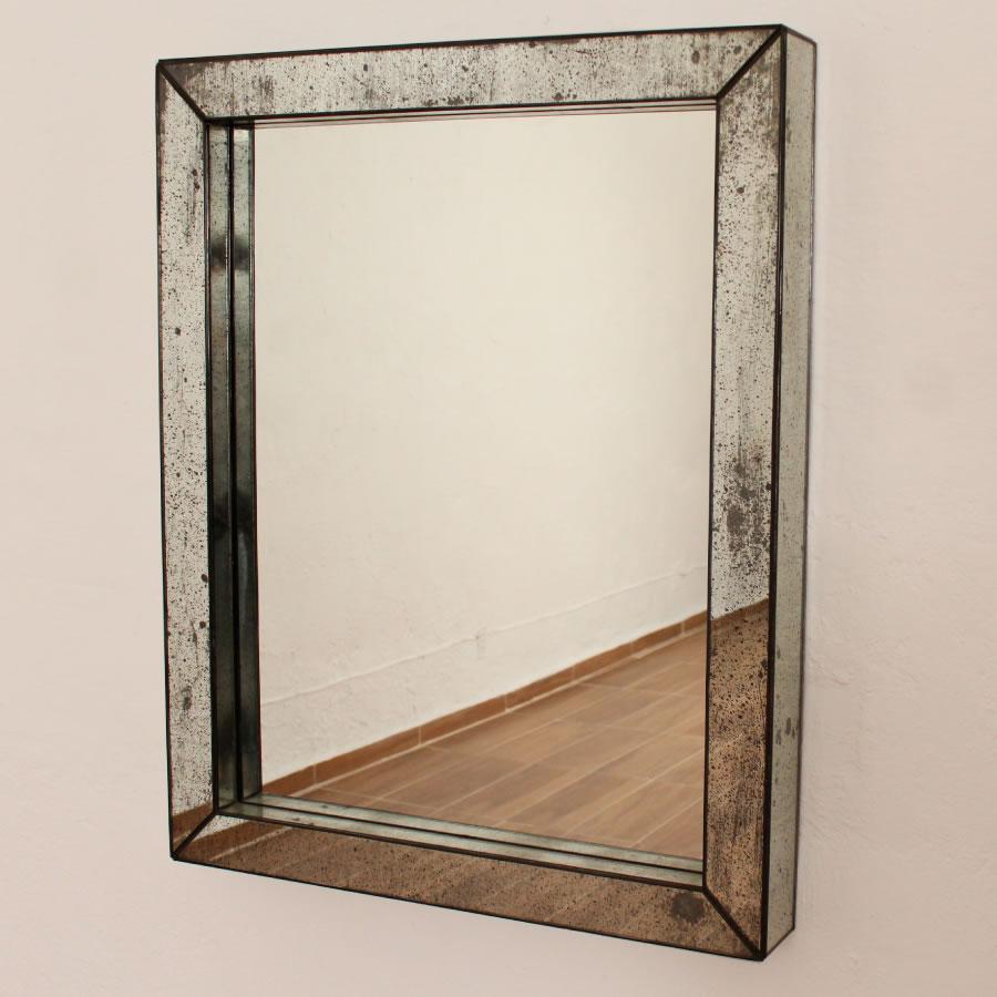 Espejos dorados espejos artesanales vintage espejos for Marcos para espejos de pie